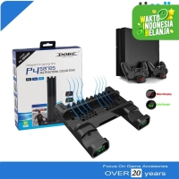 19076 Multifunctional Cooling Stand PS4 Fat Slim Pro Charging LED