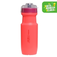 Triban Botol Minum Road 650ml Pink Decathlon 2611236