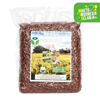 Beras Organik AR - Beras Merah 1 kg - Makanan Pokok
