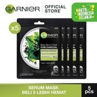 Garnier Serum Mask Black Algae Bundle