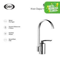 AER Kran Dapur Panas dingin-Keran Air Kuningan-Mixer Faucet SAM KF1