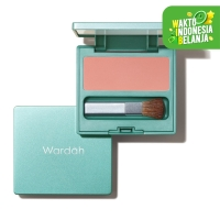 Wardah Exclusive Blush On 02 Coral Peach 6.5 g