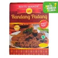 Restu Mande Rendang Sapi Basah - 300 gram