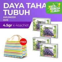Amunizer 4'S 4.5 g x4 Free Lunch Bag