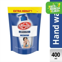 Lifebuoy Sabun Cuci Tangan Anti Bakteri Mild Care Refill 400Ml