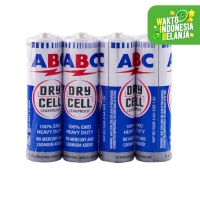 Batu Baterai - Batere ABC AA Battery (isi 4 pcs)