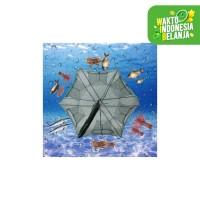 Payung Perangkap Bubu Jaring Jala Ikan Fishing Net Trap Cage 6 Lubang