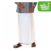 Atlas Sarung Premium Original Putih Polos