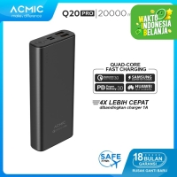 ACMIC Q20PRO 20000mAh Power Bank Quick Charge 3.0 + PD Power Delivery