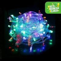 Lampu Hias Natal Dekorasi Hiasan Tublr Kamar 10 Meter 8 Mode Outdoor