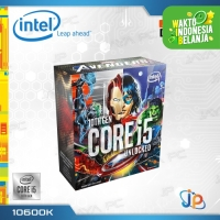 Processor Intel Core I5 10600K Avengers Box Comet Lake Socket LGA 1200