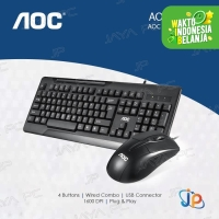AOC KM110 Bundle Keyboard + Optical Mouse