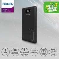 PHILIPS Mobile Power Bank 10,000 MAH DLP 6719C PD 18W /QC 3.0 LED