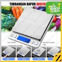 Timbangan Digital 3 kg Bumbu Dapur Scale Kitchen 0.1G 3000 Gram i2000