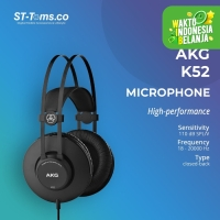 AKG K52 / K 52 Monitor Headphones - Black