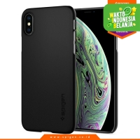iPhone XS Max / XS / X / XR Case Spigen Light & Slim Hardcase Thin Fit