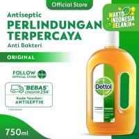 Dettol Antiseptic Liquid - Botol 750mL - Cairan Antiseptik&Disinfektan