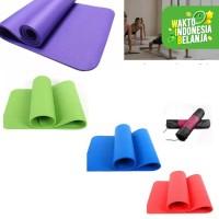 matrass yoga yoga mat karpet spons 10 mm bonus tas