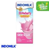Indomilk UHT Stroberi 250 ml X 4 Pcs