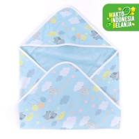 Mooi selimut topi bayi newborn (elephant cloud)