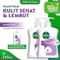 Dettol Sabun Cuci Tangan Sensitive 245ml [ BUY 2 GET 1 ]