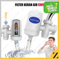 Saringan Keran Air SWS Penyaring Keran Filter Keramik Kran Faucet Sink