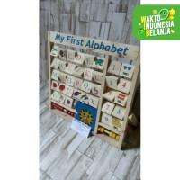 mainan edukasi anak- mainan anak edukatif- mainan huruf berputar