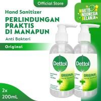 Dettol Hand Sanitizer Original 200ml x 2 pcs Pump [PAKET HEMAT]