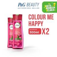 Herbal Essences Shampoo Colour Me Happy 300 ml - Paket isi 2