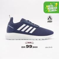 Aerostreet 40-43 Questar Navy - Sepatu Sneakers Sport Pria Wanita