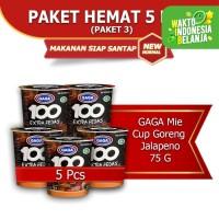 Mie Cup GAGA 100 Goreng Jalapeno 5 pcs (kode3)