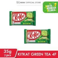 KITKAT Green Tea 4F 35g 2 pcs