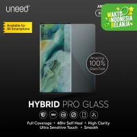 Uneed Hybrid Pro Anti Break Screen Protector Handphone Full Cover - Front 1pcs