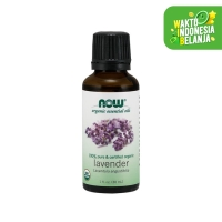 NOW® - Organic Lavender Essential Oil - 30 ml