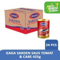 GAGA Sarden Saus Tomat 425g (1 dus = 24 pcs Harga Grosir)