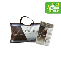 Bantal Femto + Pillow Case (Pelindung Bantal)