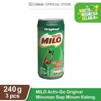 NESTLE MILO Activ-Go Original Kaleng 240ml 3 pcs