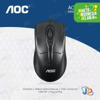 Mouse AOC Office MS110 - Wired USB Optical Mouse
