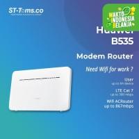 Huawei B535 Home Modem Router 4G LTE CAT7 Unlocked Free Tsel 14GB 2bln