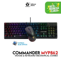 Fantech Keyboard & Mouse Mechanical Gaming Commander MVP-862