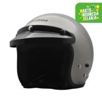 Helm Cargloss CF Retro Silver Met