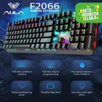 Keyboard Gaming Multimedia Mechanical AULA SI2066–RGB Macro Software
