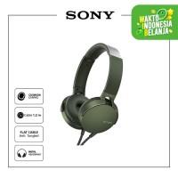 SONY MDR-XB550AP Green Extra Bass Headphone / XB550AP / XB-550AP