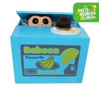 Mainan Edukasi ITAZURA MISCHIEF SAVING BOX celengan PANDA pencuri koin