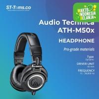 Audio Technica ATH-M50X Professional Monitor Headphones - Hitam