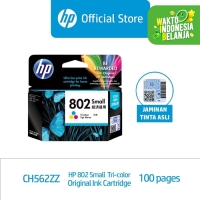 HP 802 Small Tri-color Ink Cartridge (CH562ZZ)