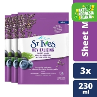 St.Ives Revitalizing Sheet Mask 230Ml isi 3