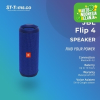 JBL Bluetooth Speaker Flip 4 - Blue
