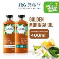 Herbal Essences Smooth Golden Moringa Oil Shampo dan Kondisioner 400ml