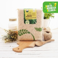 Organic Brown Rice 1 kg (Beras Coklat Organik)